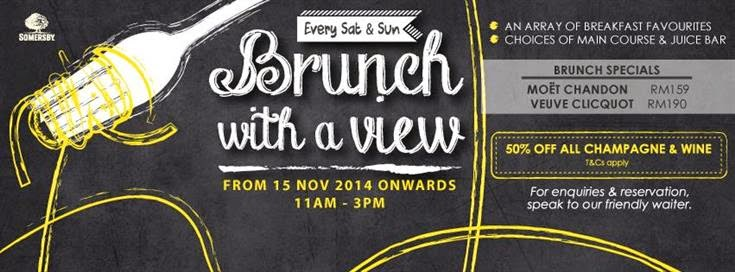 Oh Fish Iee Weekend Brunch Signature At The Roof 1 Utama