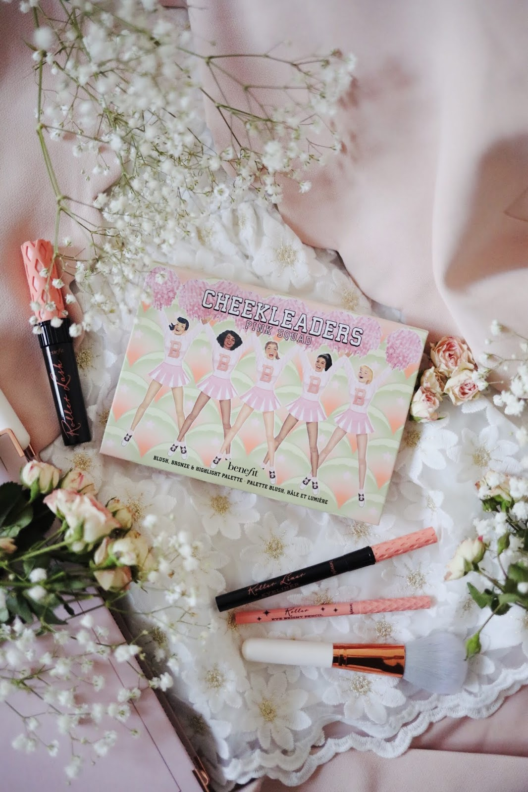 CHEEKLEADERS PINK SQUAD , BENEFIT, CHEEKLEADERS BRONZE SQUAD , BENEFIT FRANCE , ROSEMADEMOISELLE , ROSE MADEMOISELLE , BLOG BEAUTE , PARIS