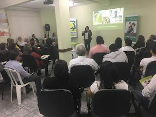 Jornalista fala sobre vida e saúde em happy  realizado em parceria da ACIAR com UNIMED