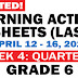 GRADE 6 Updated LEARNING ACTIVITY SHEETS (Q3: Week 4) April 12-16, 2021