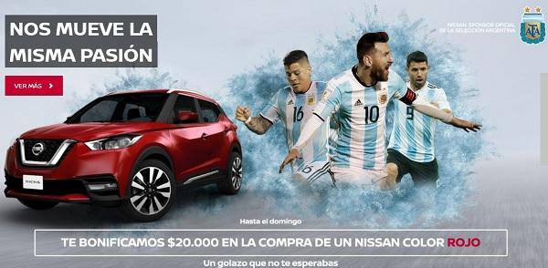 Nissan Argentina bonificación