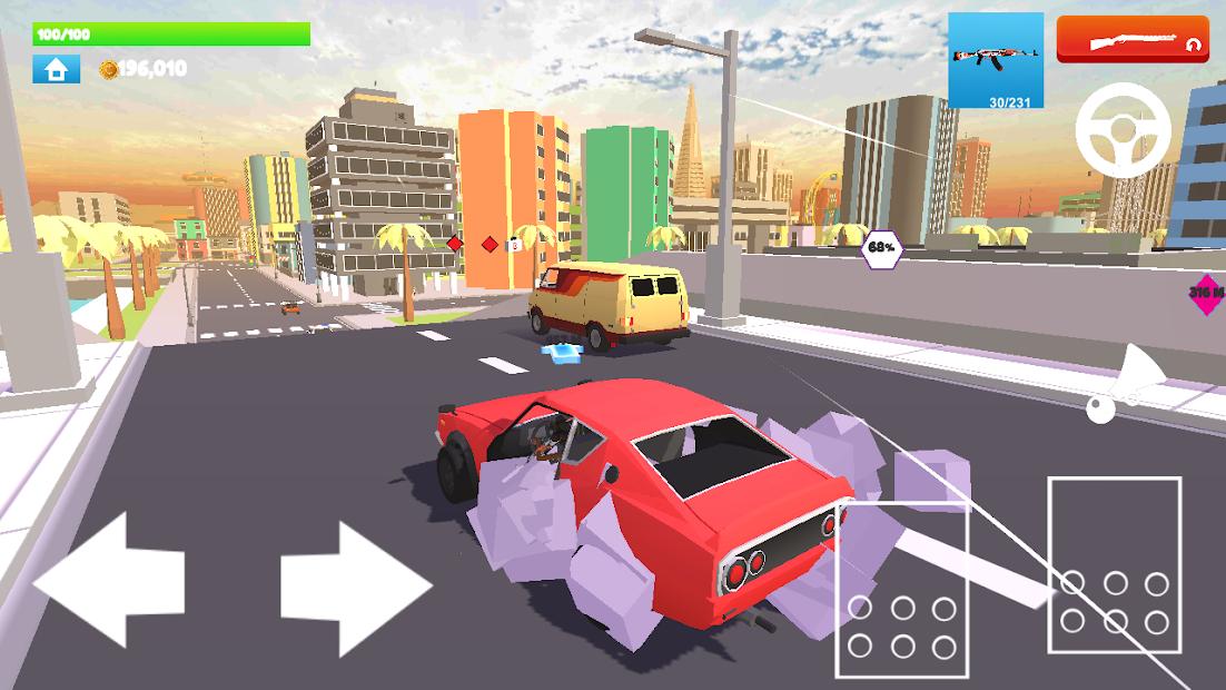 Rage City Open World Hileli APK - Sınırsız Para Hileli APK