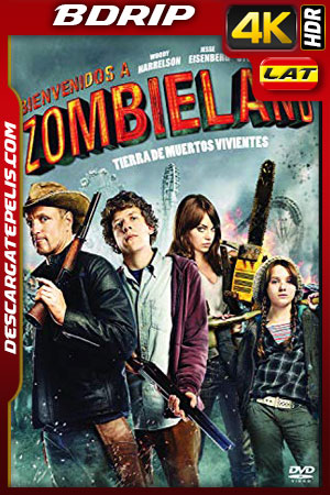 Zombieland (2009) 4k BDrip HDR Latino – Ingles