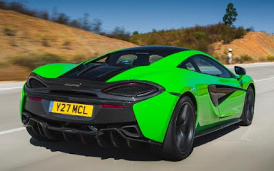 2017 McLaren 570S Green wallpaper