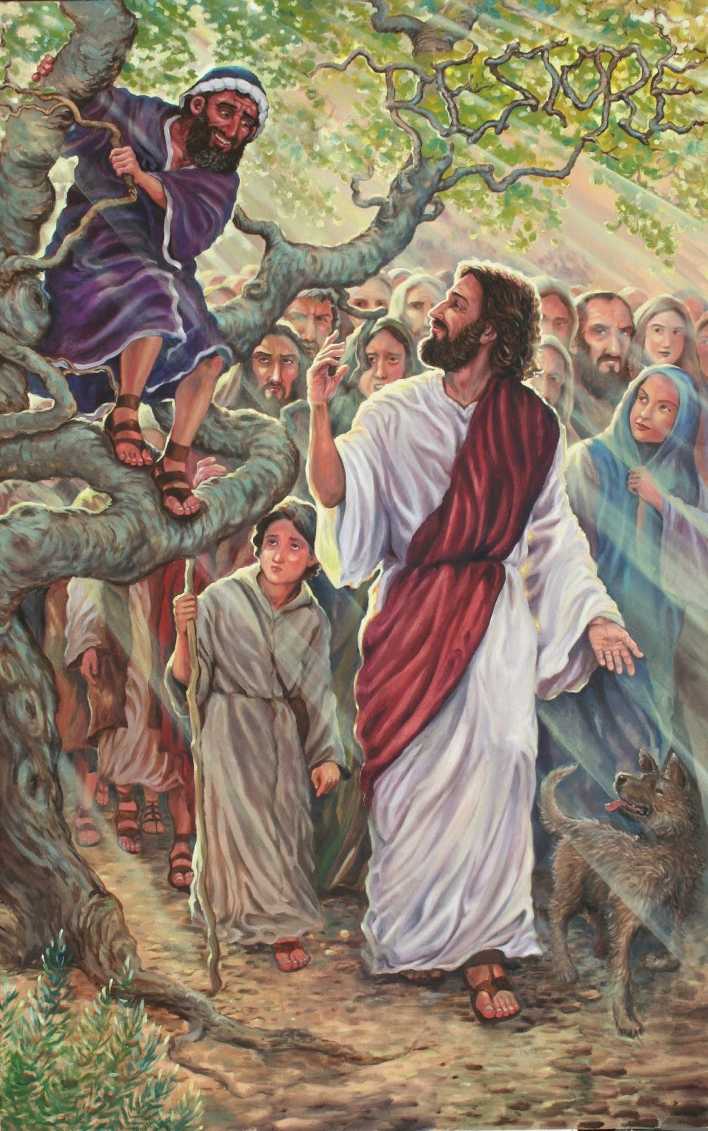 The story of Zacchaeus - Jesus knows him