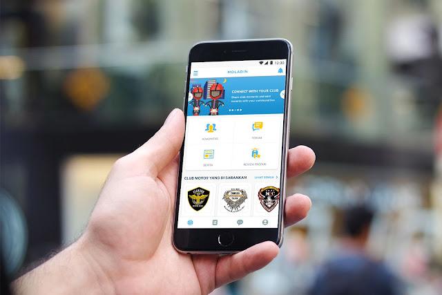 Moladin Aplikasi Android Khusus Para Biker Yang Patut Anda Coba