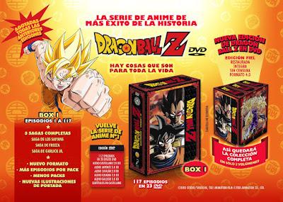 """Anunciada la nueva Edición Coleccionista de """"Dragon Ball Z"""" en DVD."""