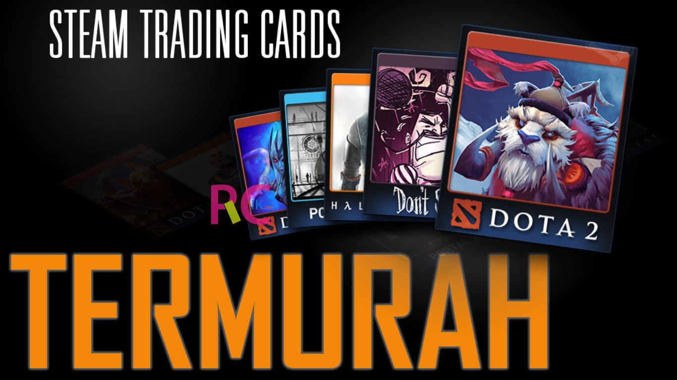 Seperti Inilah Cara Termudah Mencari Membeli Steam Trading Card Termurah 15 Kartu 1800 Perak Saja