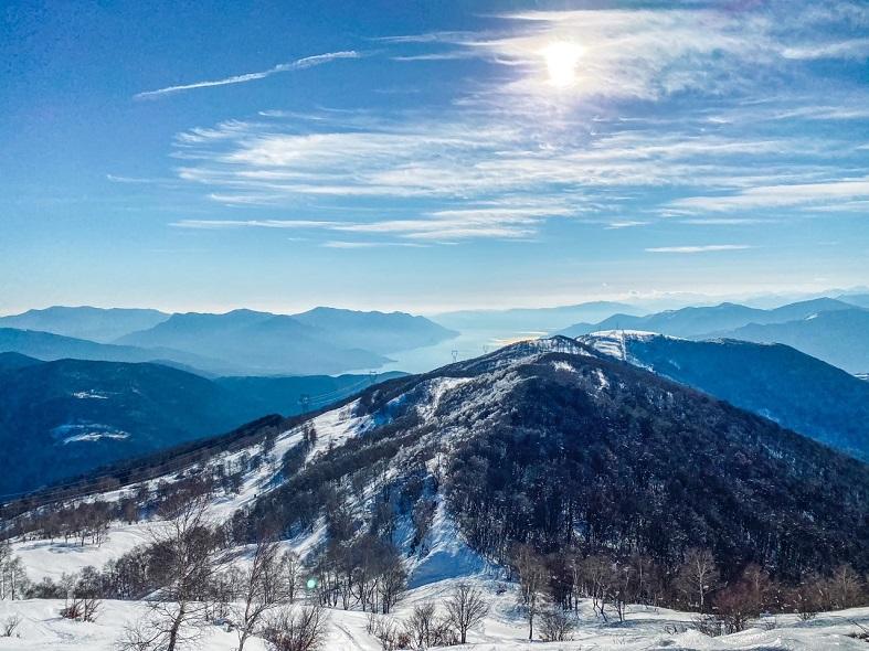 Vista dal Monte Corbaro in Val Veddasca