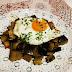 Berenjenas al curry con huevo