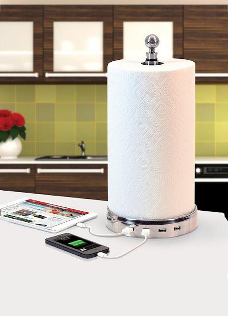 Gadget Charger Plus Tisu Toilet
