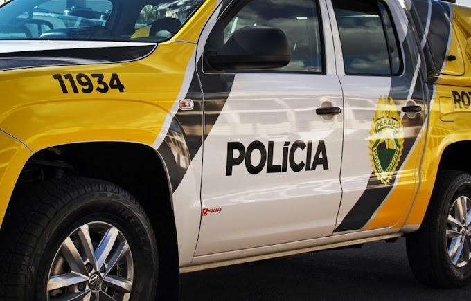 """Polícia Militar prende """"machão de cozinha"""" que agrediu a mulher em Reserva do Iguaçu"""