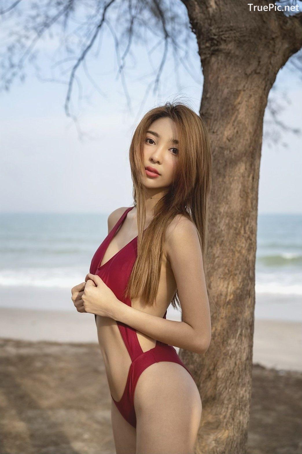 Image Thailand Model – Printlaaplus Zhaengchohm - Mixed Salad Bikini - TruePic.net - Picture-1