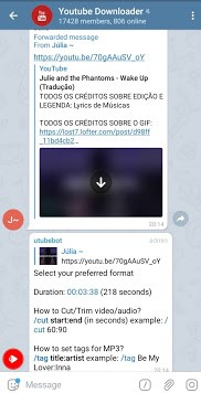 See How To Directly Stream And Download YouTube Videos With Telegram