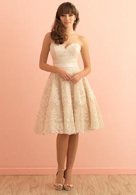 diseños de Vestidos de Novia Cortos