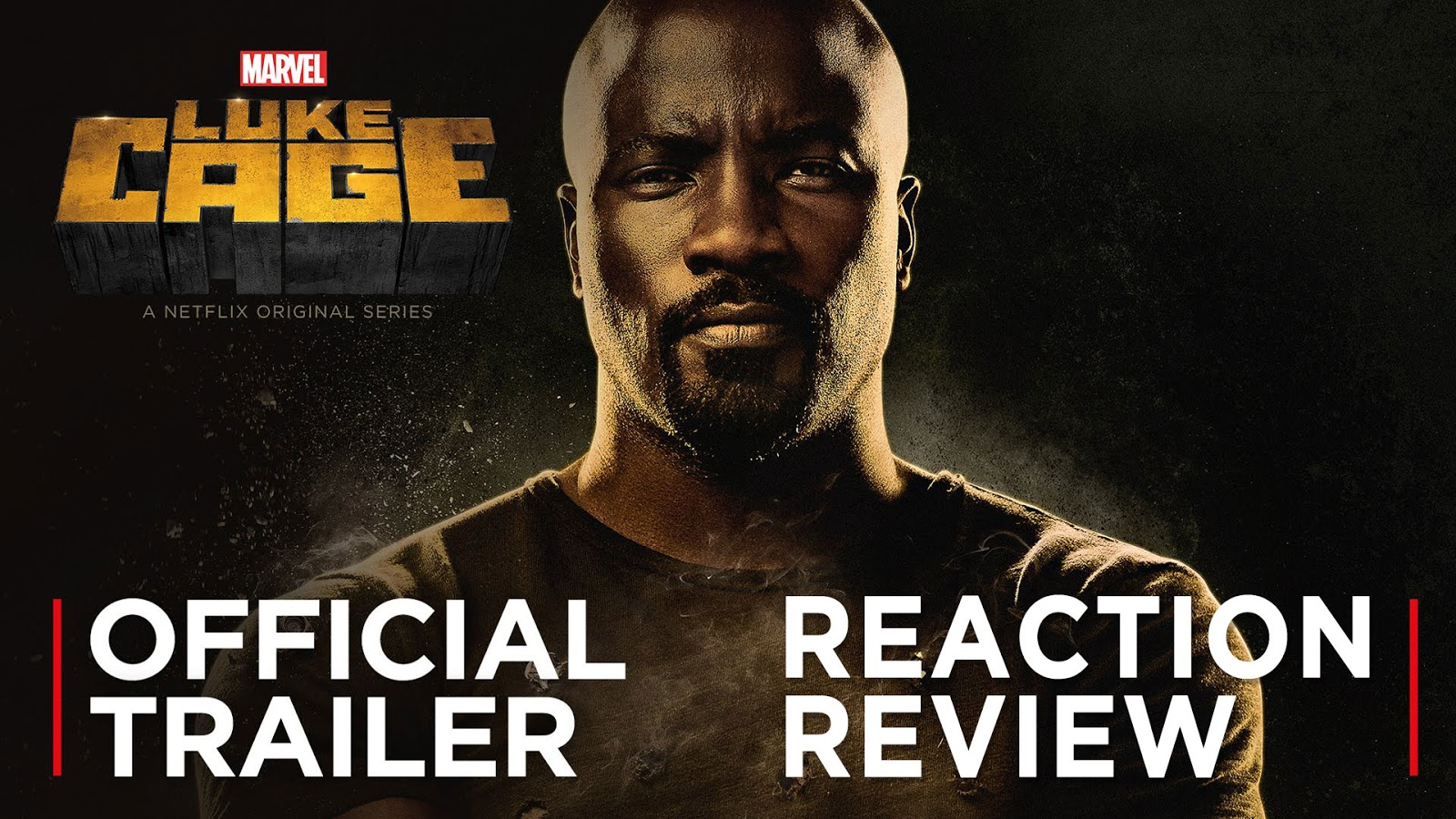 reaction to trailer for Luke Cage