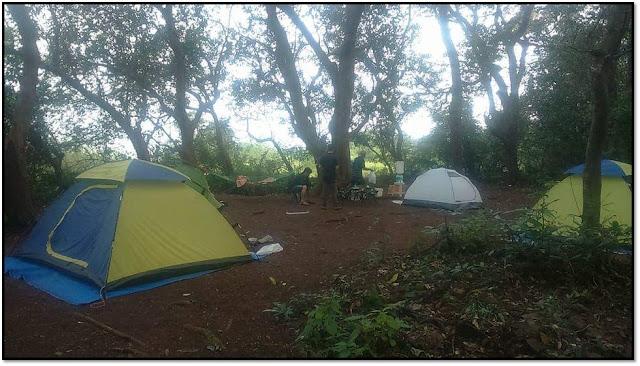 rajmachi trek and camping