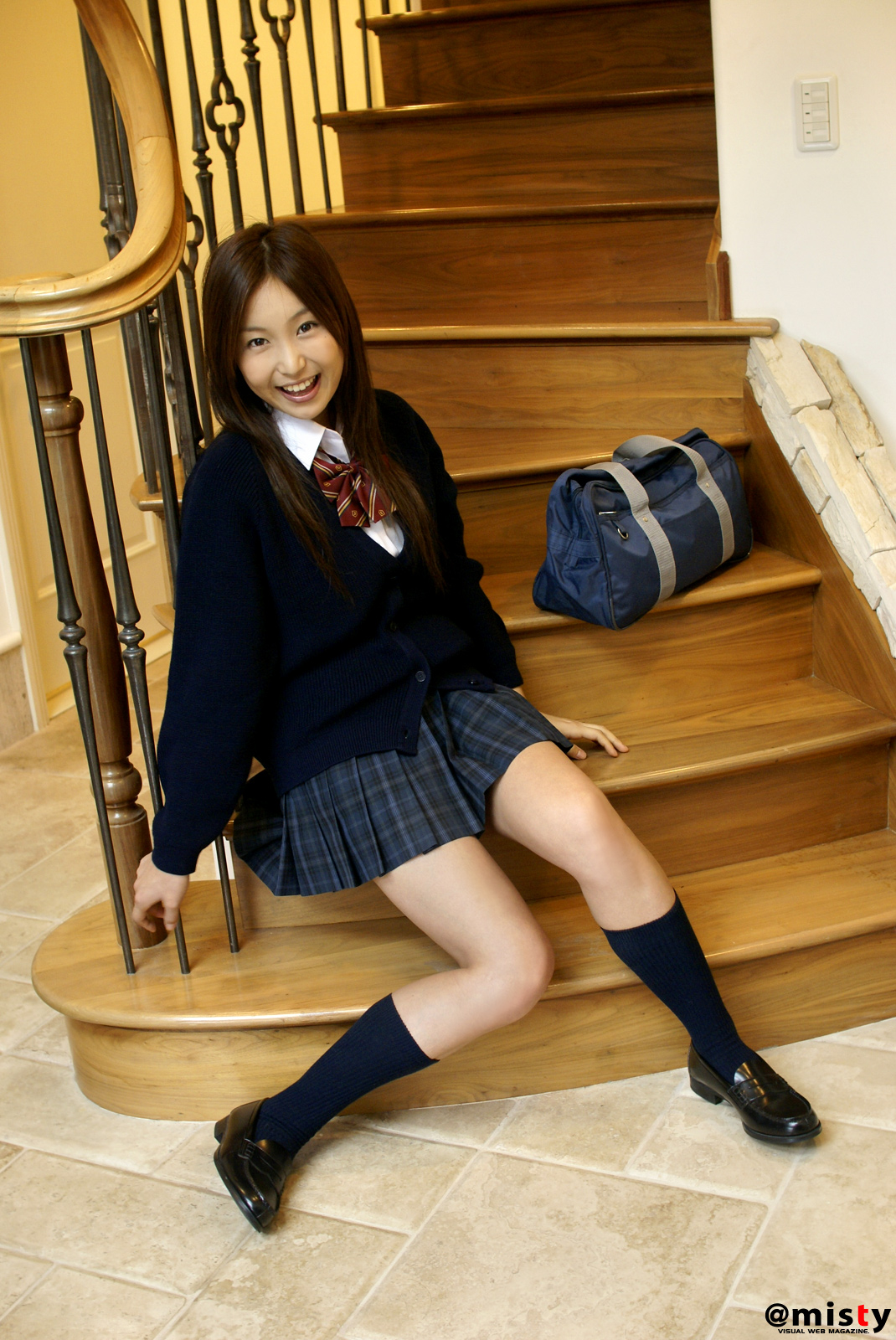 Sanokjiji Sexy Tokyo Teen Posing In School Uniform-7443