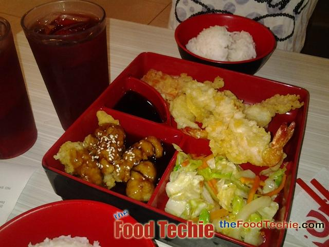 Enjoying Tokyo Tokyo Bento Meals