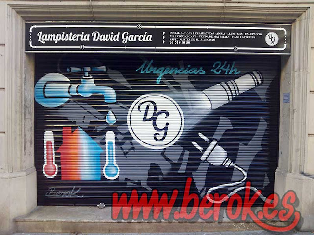 graffiti lampistería David García