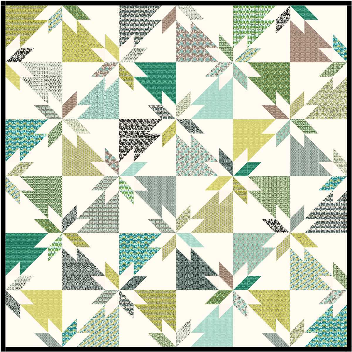 The Bees Knees A Quilting Bee June Block Hunters Star