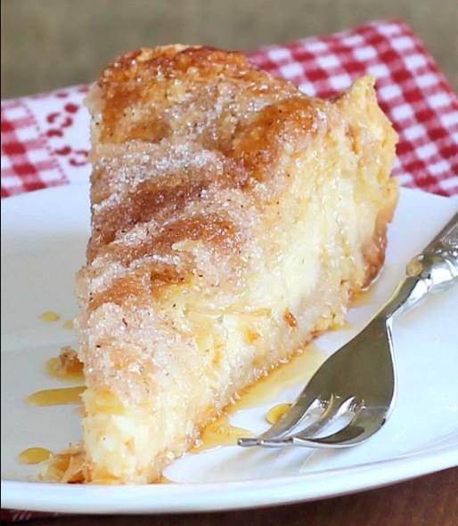 Easy Sopapilla Cheesecake #easyrecipe #cake