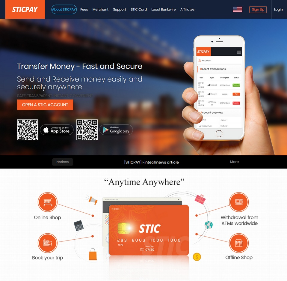 Sticpay bookmakers