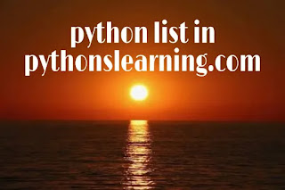 what is list in python with example-Method/index in list