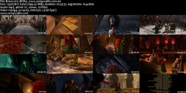 Valiente DVDRip Español Latino Película 2012