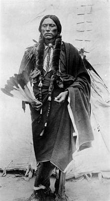 Quanah Parker, O Último Grande Chefe dos Índios Comanches.
