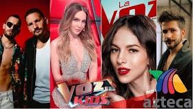 Los Coaches de La Voz Kids México 2020 de TV Azteca