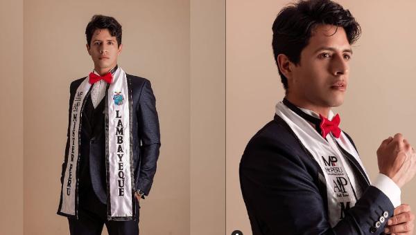 Richard Ramírez es Mister Perú Lambayeque 2020