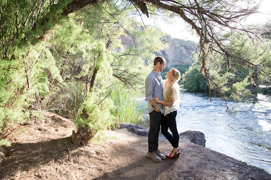 KRISTIN BREINHOLT PHOTOGRAPHY: Zac & Blakely Engaged