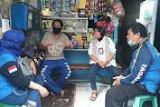 Sambangi Anggota Sakit, Bentuk Solidaritas Tagana Kecamatan Tambora