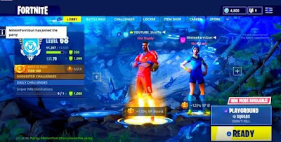 Playground LTM, Getting Started Guide, Fortnite