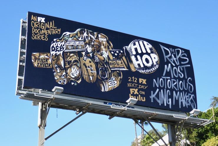 Hip Hop Uncovered series premiere billboard