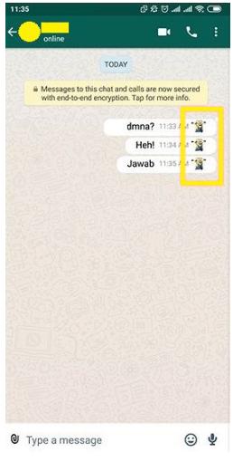 Cara Mengubah Centang Biru WhatsApp Jadi Emoticon Lucu