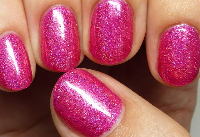 Nvr Enuff Polish Raspberry Dreams