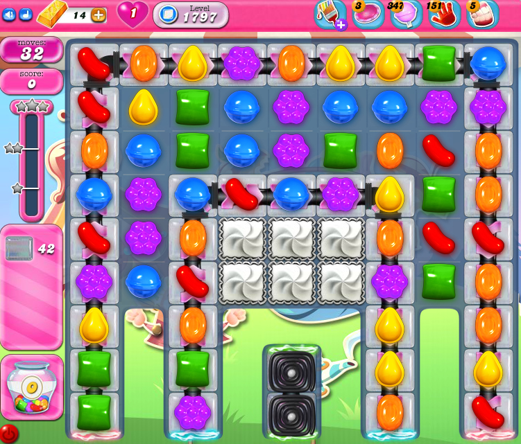 Candy Crush Saga 1797