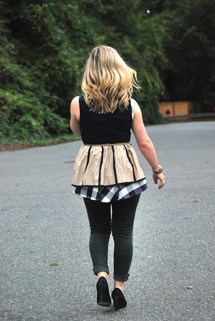 how to style peplum for the fall