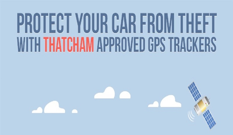 UK Vehicle Theft & Recovery Statistics with Thatcham GPS Trackers #infographic