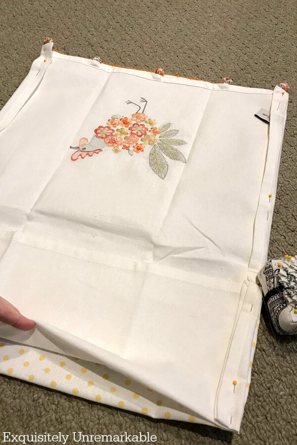 Make A Reusable Tote with two towels