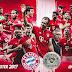 Bayern foi campeão da Bundesliga neste Sábado