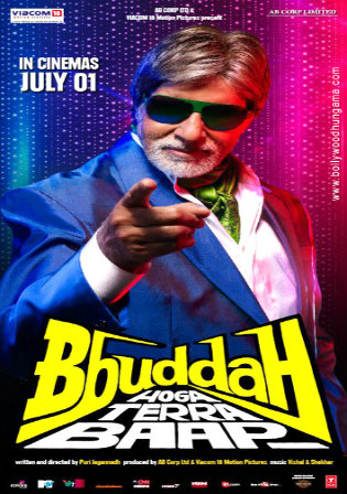 Bbuddah Hoga Terra Baap 2011 BRRip 300MB Hindi Movie Download 480p