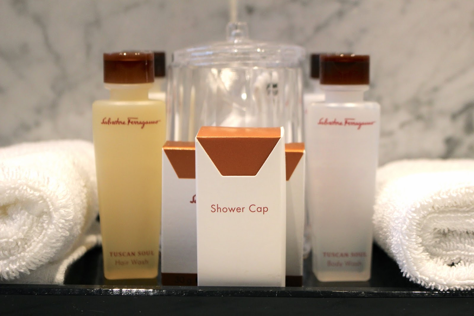 salvatore ferragamo hotel toiletries