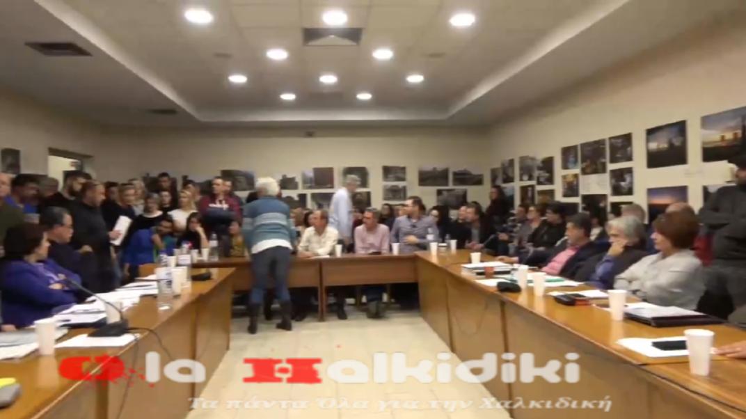 Η Μάρθα Καραγιάννη στο Δημοτικό Συμβούλιο του Δήμου Αριστοτέλη (βίντεο)