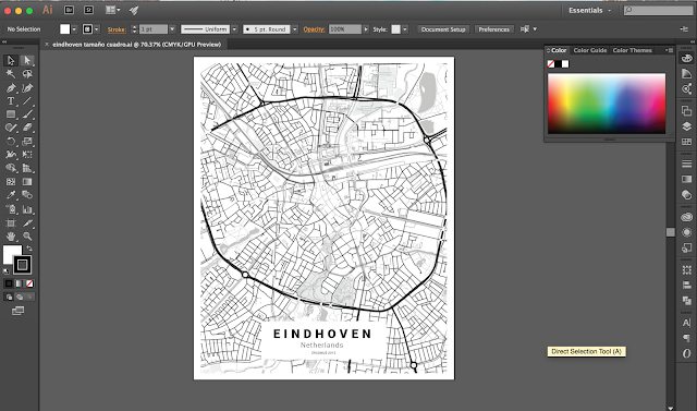 como hacer un cuadra con un mapa customizable // How to make a customizable city map poster with Mapbox
