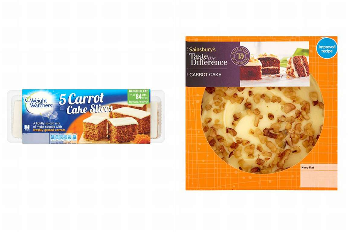Sainsbury S Carrot Cake Slices