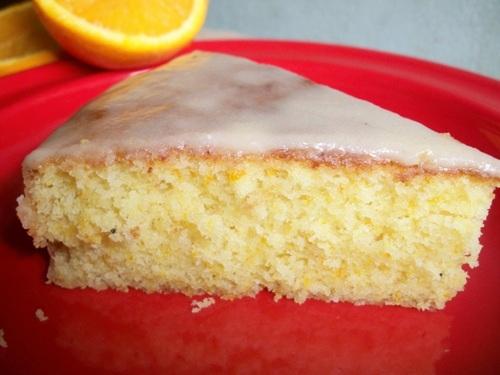 Orange Cake Icing Recipes: YUMMY TUMMY: Iced Orange Cake (Moist Orange Cake With