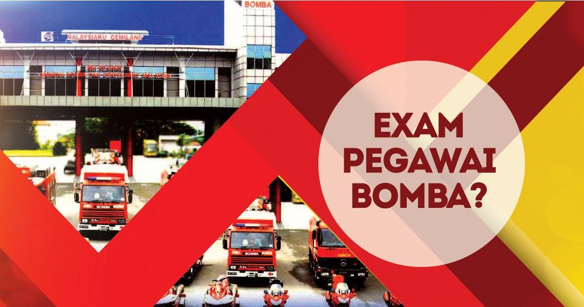 Contoh Soalan Peperiksaan Online Psee Pegawai Bomba Gred Kb19 Panduan Exam Spa Online